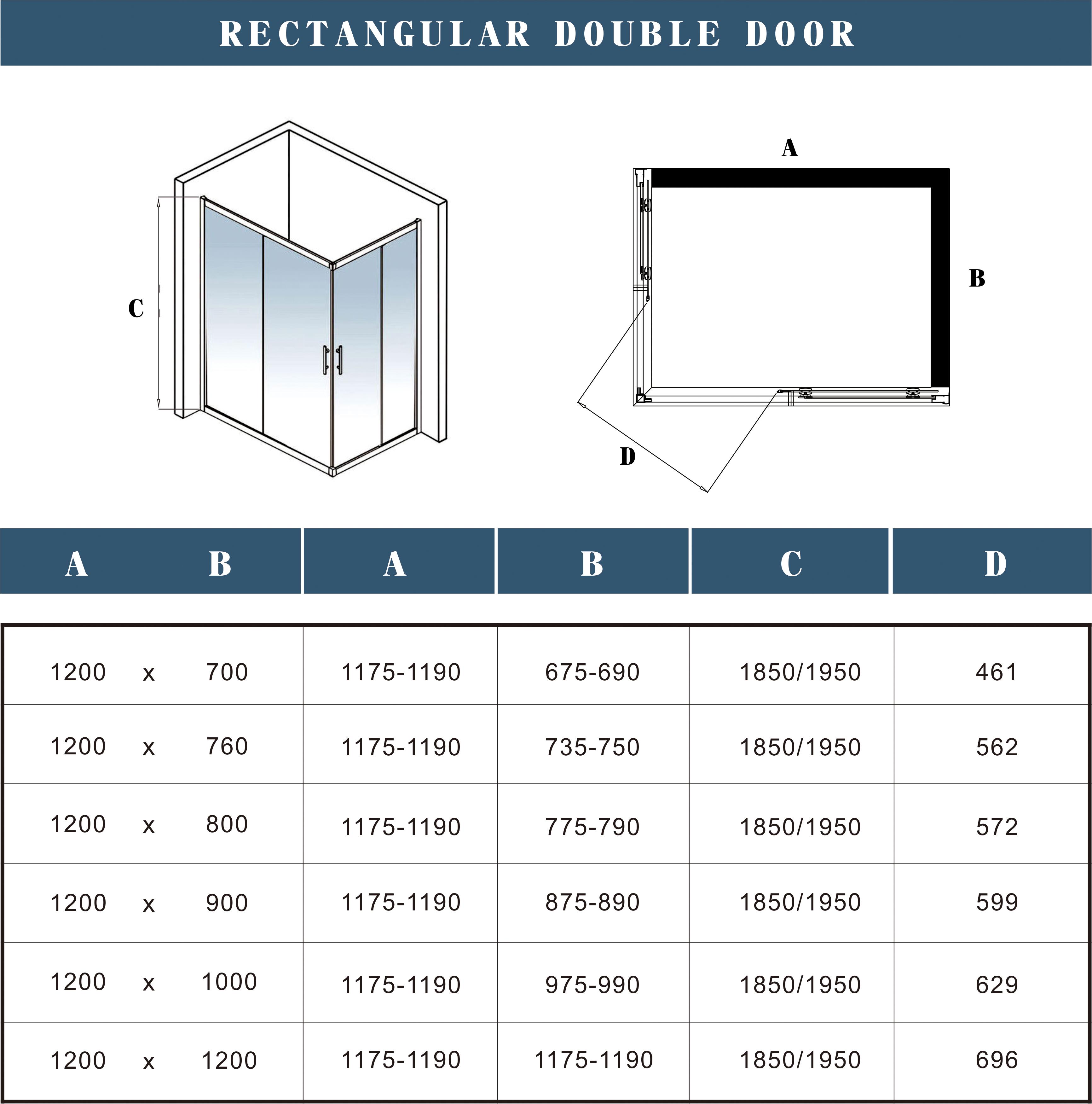 1200x900x1850mm dusche duschkabine schiebet r eckeinstieg duschabtrennung. Black Bedroom Furniture Sets. Home Design Ideas