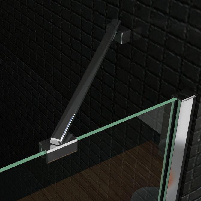 duschkabine runddusche duschabtrennung 80x80 90x90mm viertelkreis nano glas q39 ebay. Black Bedroom Furniture Sets. Home Design Ideas
