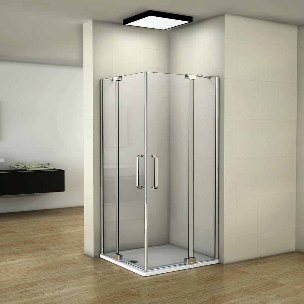 Duschabtrennung duschkabine eckeinstieg schwingt r for Dusche ohne tasse